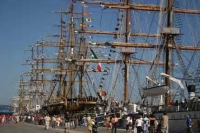 Tall ships in Cornwall August 2014