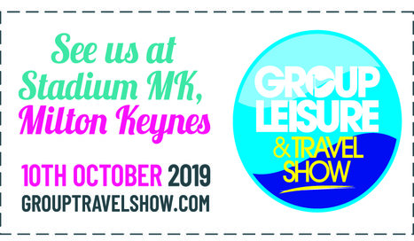 Simply Groups will be attending the Group Leisure and Travel Show on 10th October 2019